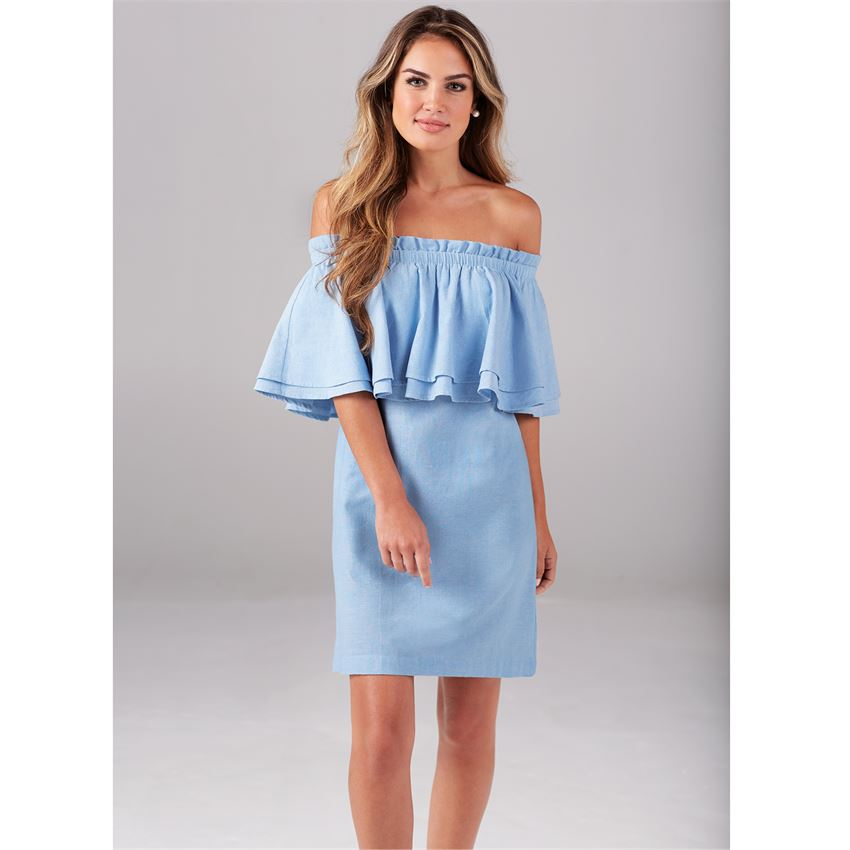 MUDPIE PIPPA OFF THE SHOULDER DRESS