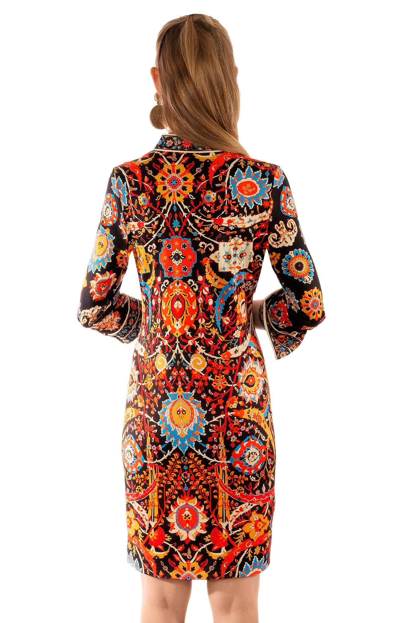 GRETCHEN SCOTT MANDARIN DRESS