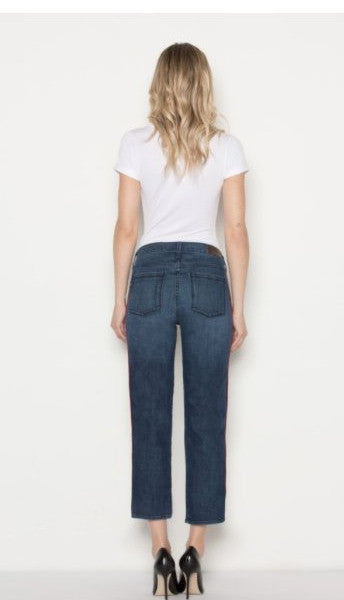 PARKER SMITH STELLA STRAIGHT BLUE LINE JEANS