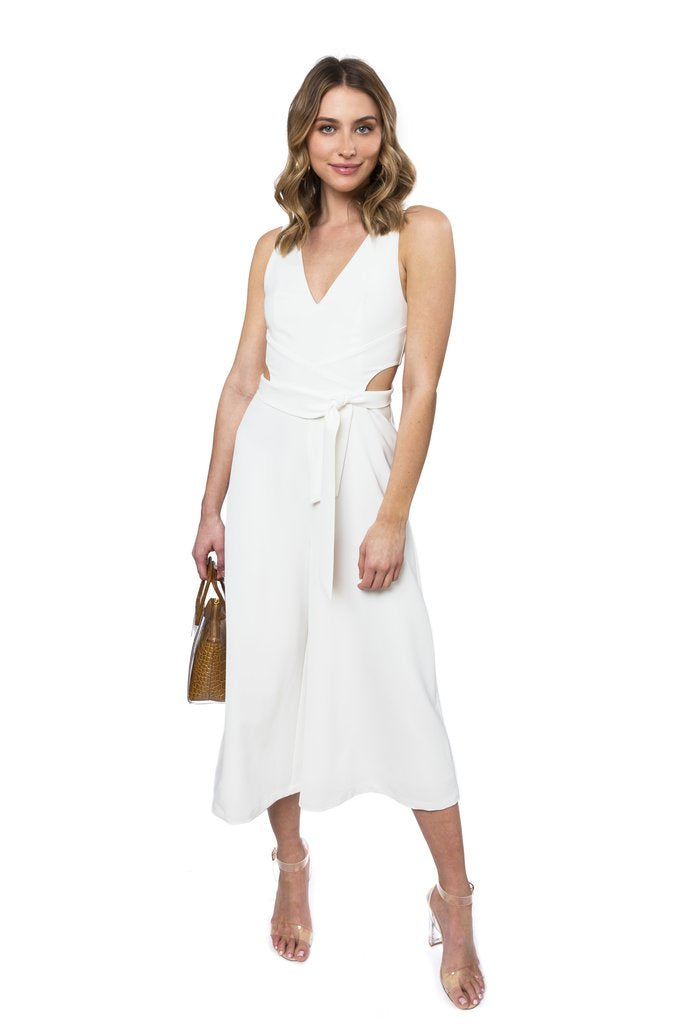 JULIE BROWN BIANCO JUMPSUIT