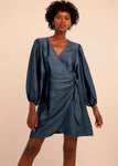 FRNCH ACELA WOVEN DRESS
