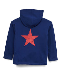URBAN SMALLS DISTRESSED STAR HOODIE
