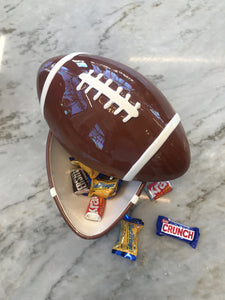 BASKETS FOOTBALL COOKIE JAR
