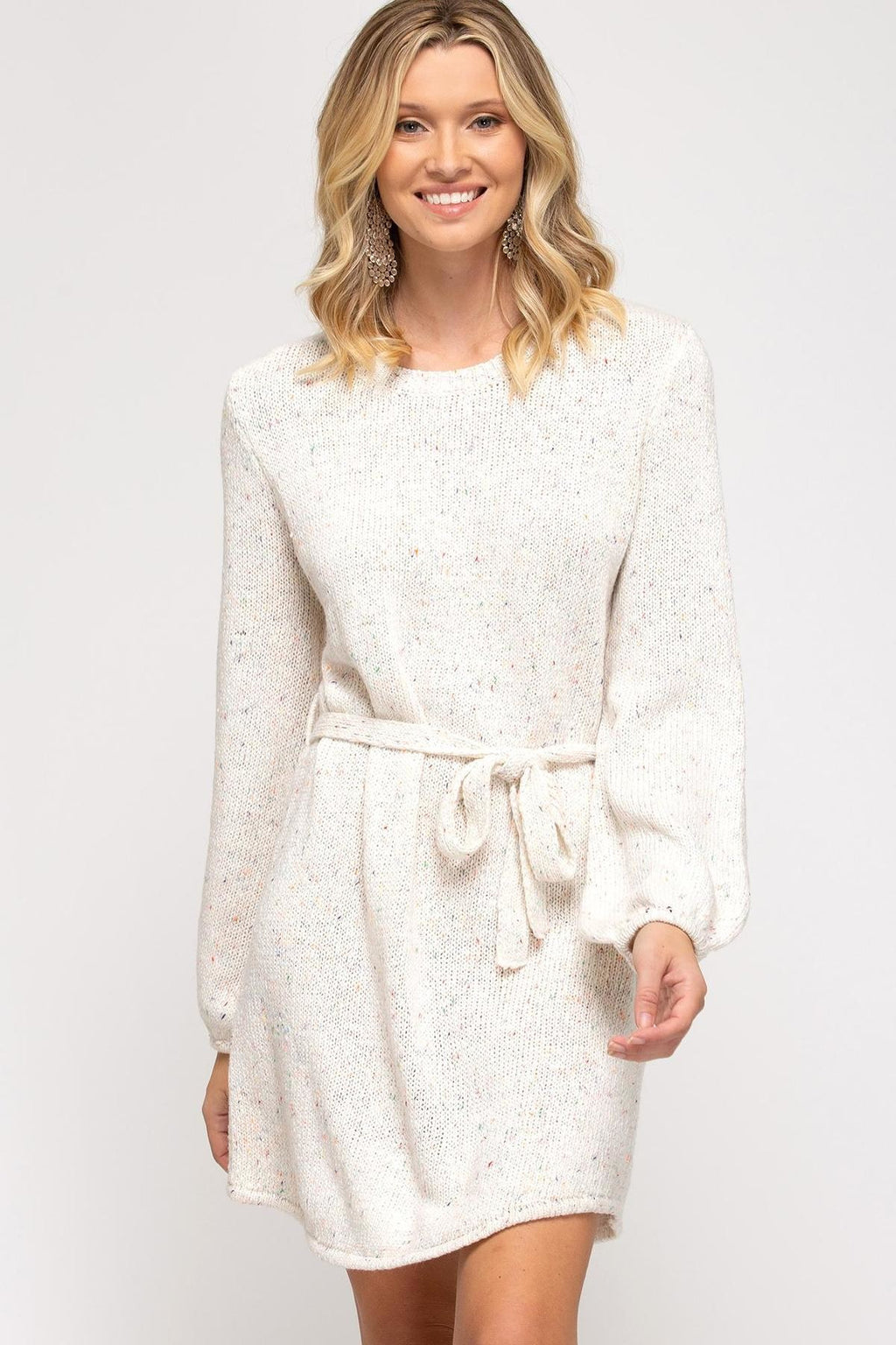 SUNLIGHT KNIT SWEATER DRESS