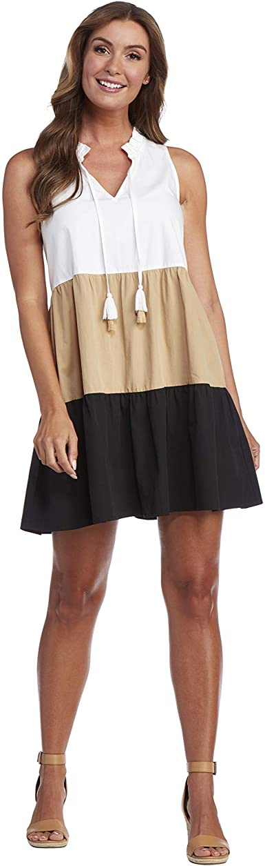 MUDPIE MCKENNA COLORBLOCK DRESS