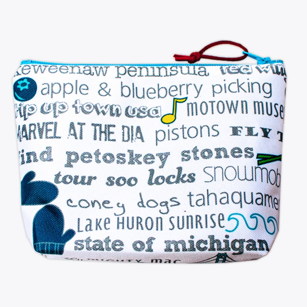 TANDEM FOR TWO MICHIGAN BUCKET LIST PETITE POUCH