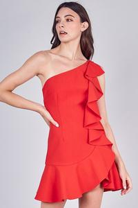 DO+BE BETTY RUFFLE DRESS