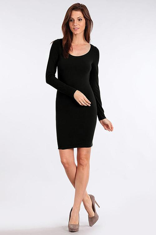M. RENA SEAMLESS LONG SLEEVE DRESS