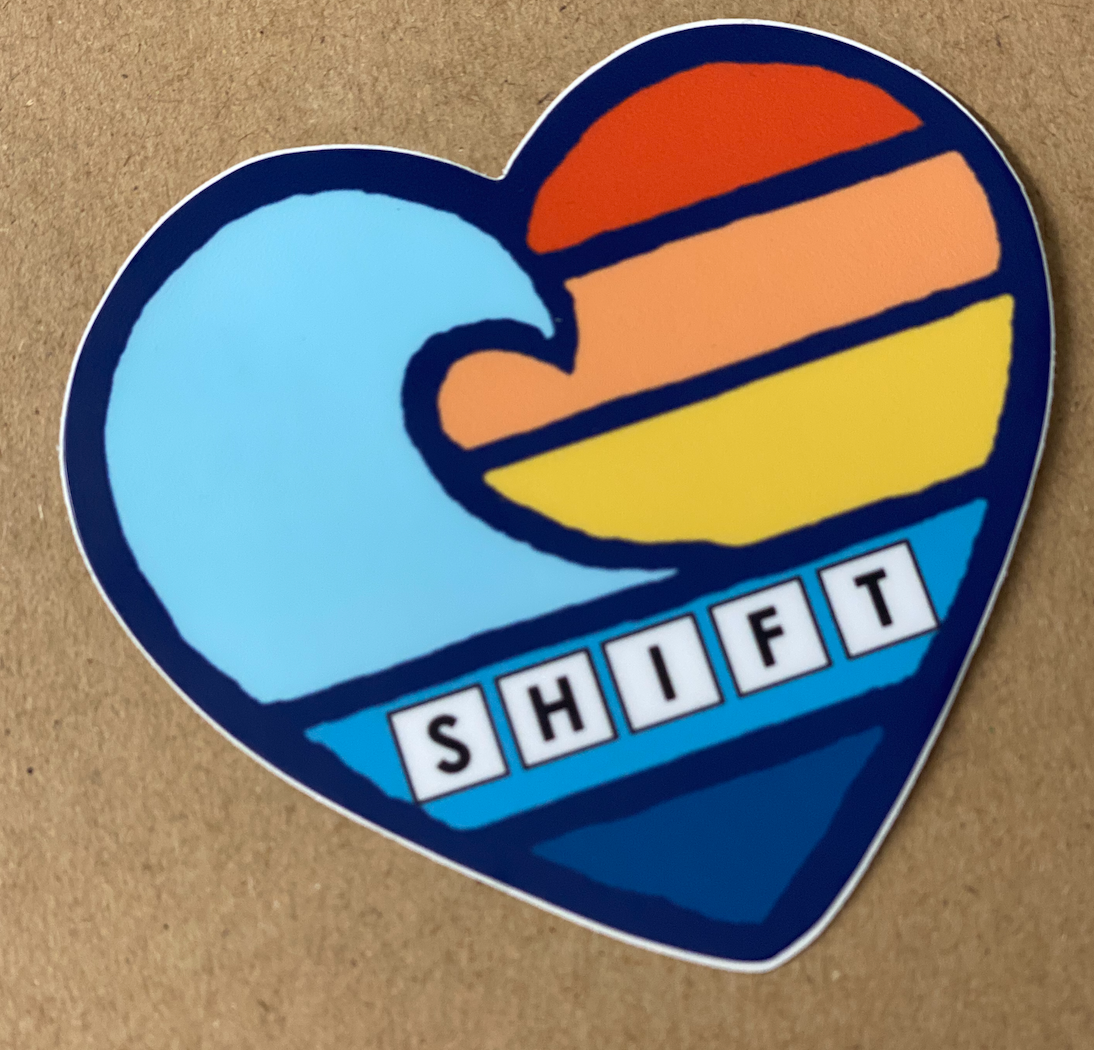 SHIFT WAVE STICKER