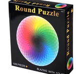 DOWNTOWN RAINBOW ROUND PUZZLE