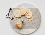 CREATIVE CO-OP MARBLE CHEESE BOARD