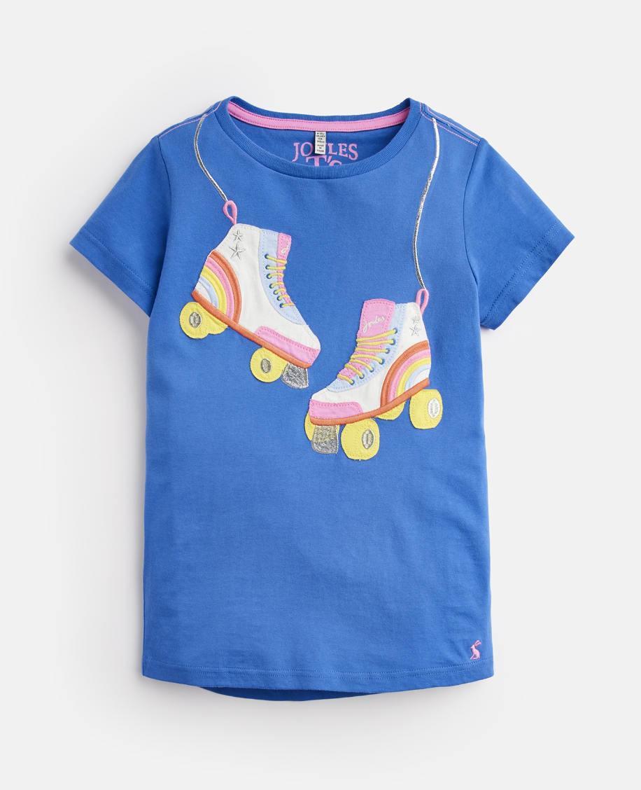 JOULES ASTRA JERSEY APPLIQUE TOPS