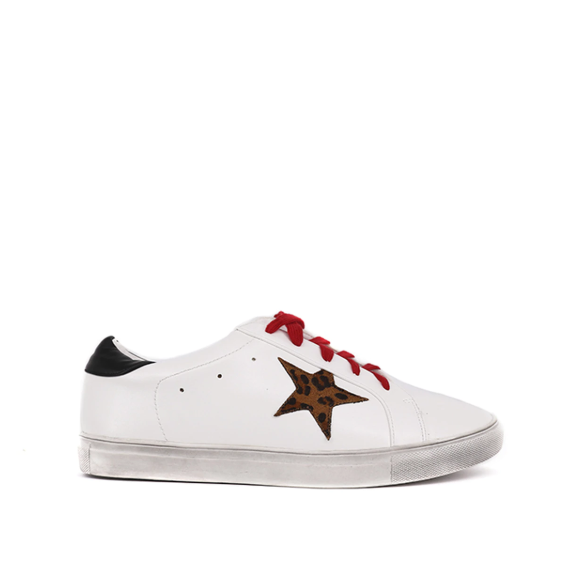 SHU SHOP SALOME WHITE SNEAKERS