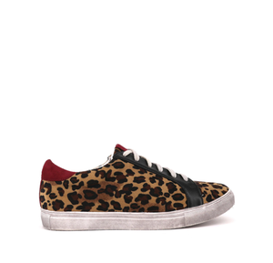 SHU SHOP QUINCY ANIMAL PRINT SNEAKERS