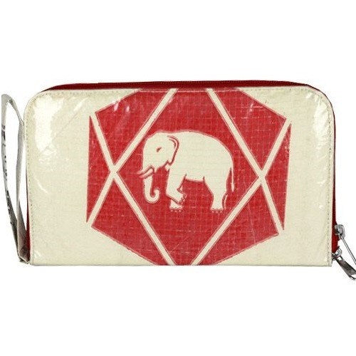 MALIA DESIGNS RECYCLED CEMENT TRAVEL WALLET