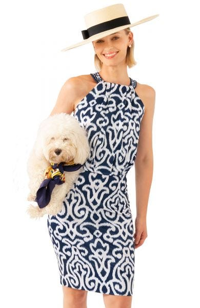 GRETCHEN SCOTT ARABESQUE BOUGIE DRESS