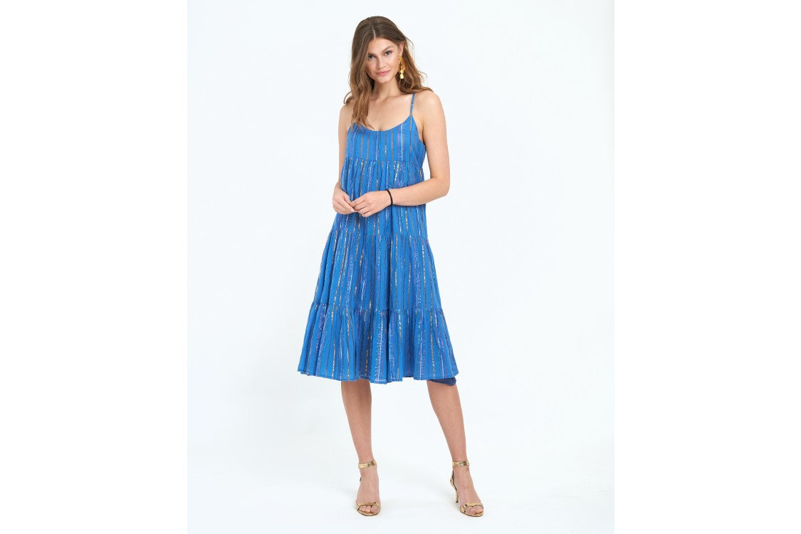 OLIPHANT RIO BUTTON BACK DRESS