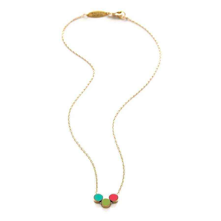 MIND'S EYE CIRCLE COLOR STORY NECKLACE