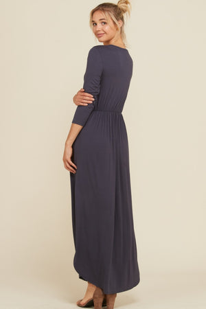 ANNABELLE MAXI WRAP DRESS