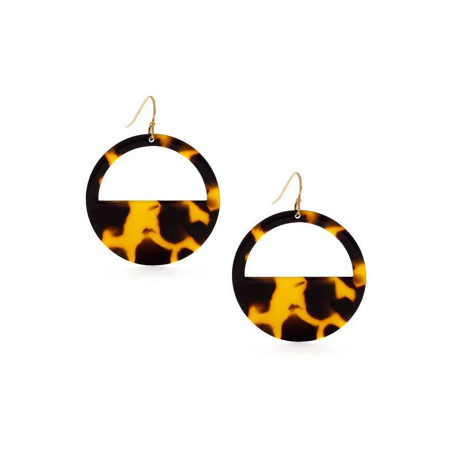 MIND'S EYE TORTOISE EARRING