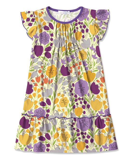 SUNSHINE SWING FLORAL DRESS