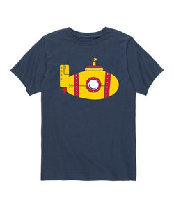 LIVE AND TELL YELLOW SUBMARINE TEE