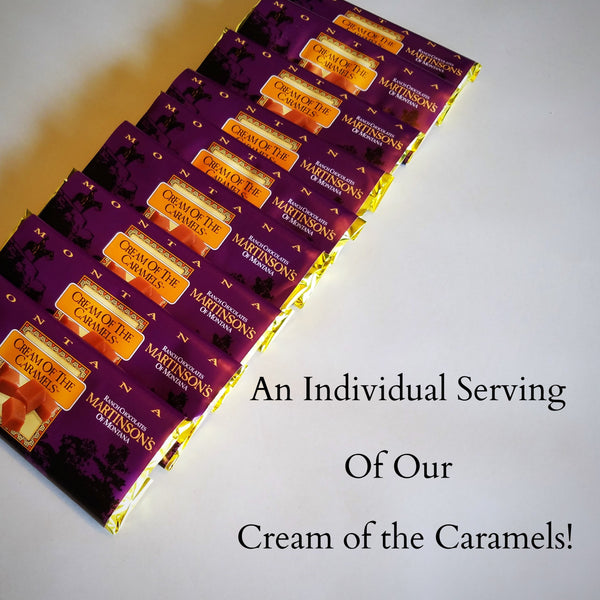 H. Cream of the Caramel Candy Bar