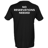 Tocabe Black No Reservations T-Shirt