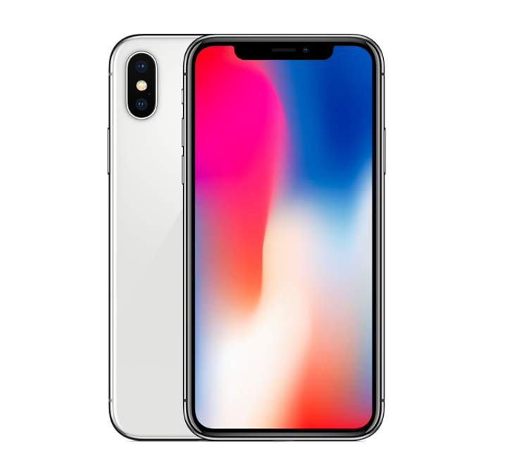 iPhone X 64GB Silver (Factory Unlocked)