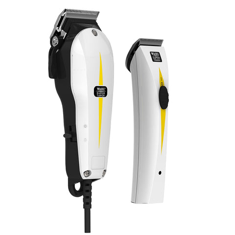 Wahl professional corded clipper & rechargable trimmer Combi Pack