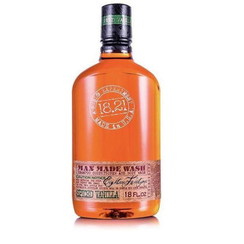 18.21 Man Made Wash Spiced Vanilla 18oz 532ml