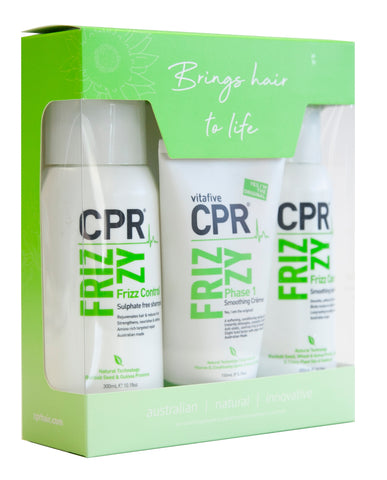 CPR Vitafive Frizzy Trio Gift Pack - Beautopia Hair & Beauty
