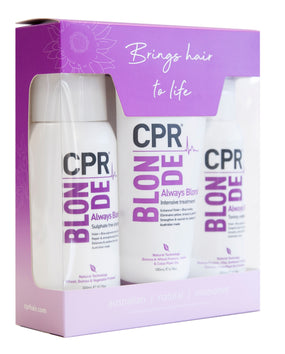 CPR Vitafive Blonde Trio Gift Pack - Beautopia Hair & Beauty