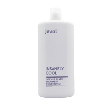 Jeval Insanely Cool Intense Silver Treatment Conditioner 1 litre - Beautopia Hair & Beauty
