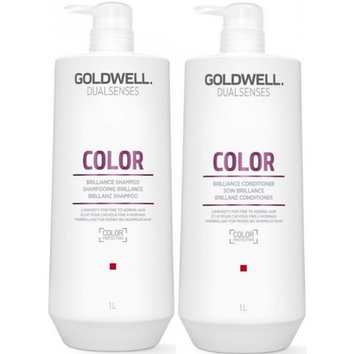 Goldwell Dual Senses Color Shampoo & Conditioner 1 Litre Duo - Beautopia Hair & Beauty