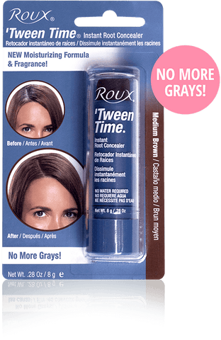 Roux Tween Time Touch Up Hair Colour Crayons Medium Brown 10g