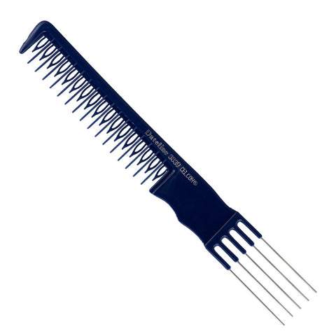 Blue Celcon Teasing Comb 3839 - 21 cm - Beautopia Hair & Beauty