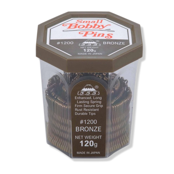 "555 Bobby Pins No.1200 1.5"" Bronze - Beautopia Hair & Beauty"
