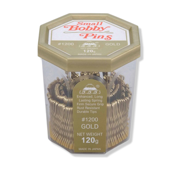 "555 Bobby Pins No.1200 1.5"" Gold - Beautopia Hair & Beauty"