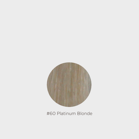 Grace Remy 3 Clip Weft Hair Extension - #60 Platinum Blonde