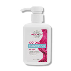 Keracolor Color Clenditioner Colour - Hot Pink 355ml-Keracolor-Beautopia Hair & Beauty