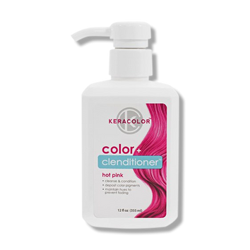 Keracolor Color Clenditioner Colour Hot Pink 355ml - Beautopia Hair & Beauty