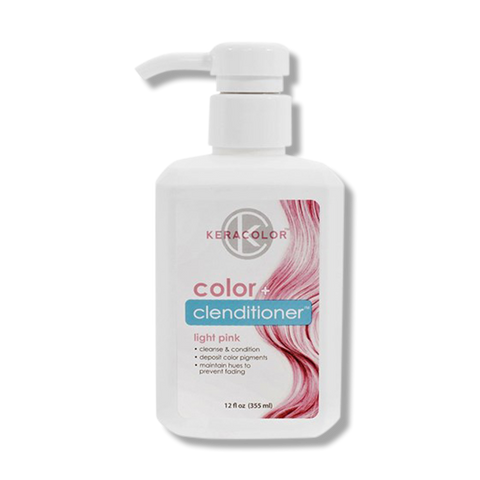 Keracolor Color Clenditioner Colour - Light Pink 355ml-Keracolor-Beautopia Hair & Beauty