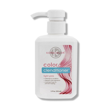 Keracolor Color Clenditioner Colour Light Pink 355ml - Beautopia Hair & Beauty