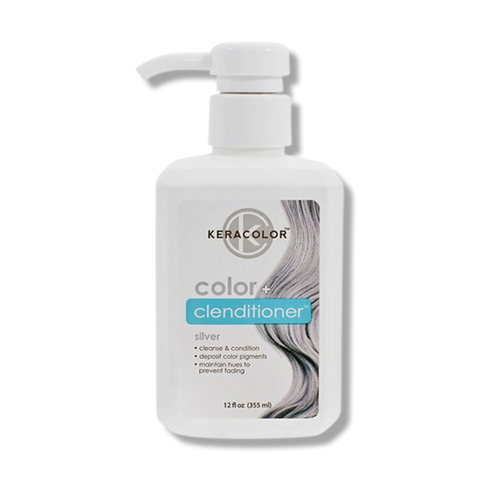 Keracolor Color Clenditioner Colour - Silver 355ml-Keracolor-Beautopia Hair & Beauty