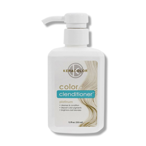 Keracolor Color Clenditioner Colour - Platinum 355ml-Keracolor-Beautopia Hair & Beauty