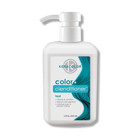 Keracolor Color Clenditioner Colour - Teal 355ml-Keracolor-Beautopia Hair & Beauty