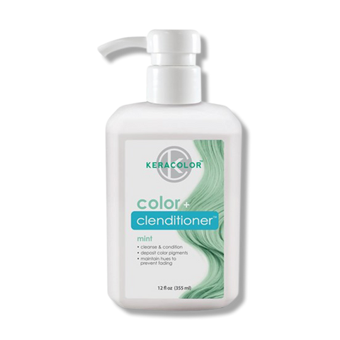 Keracolor Color Clenditioner Colour - Mint 355ml-Keracolor-Beautopia Hair & Beauty