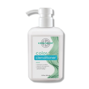 Keracolor Color Clenditioner Colour Mint 355ml - Beautopia Hair & Beauty