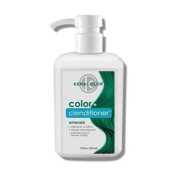 Keracolor Color Clenditioner Colour Emerald 355ml-Keracolor-Beautopia Hair & Beauty